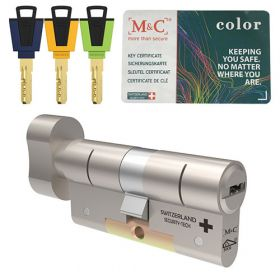 M&C Color+ hele knopcilinder SKG3